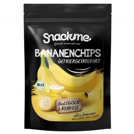 bio bananenchips gefriergetrocknet