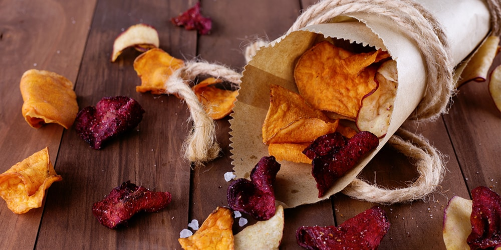 Gemüsechips kaufen - Tipps von Food-Experten