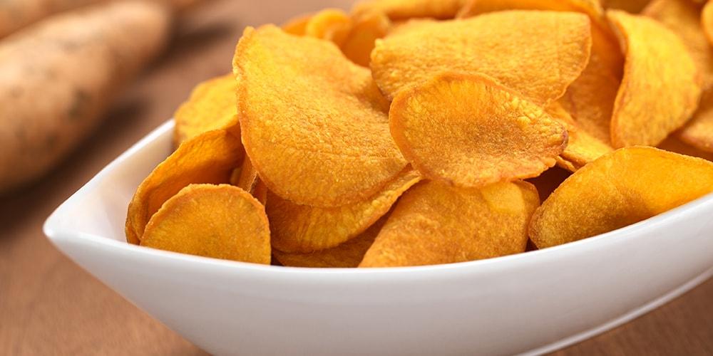 Süßkartoffel Chips selber machen