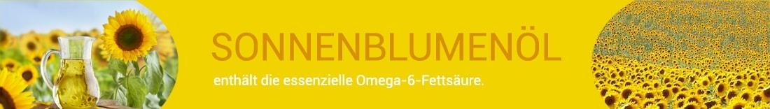 Omega-6 in Sonnenblumenöl