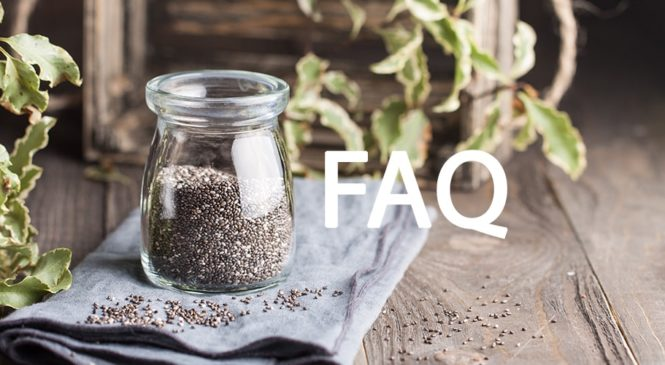 Häufig gestellte Fragen zu Chia Samen