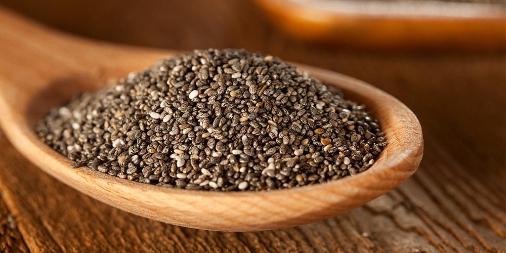 Vitamine in Chia Samen - das steckt wirklich drinnen.