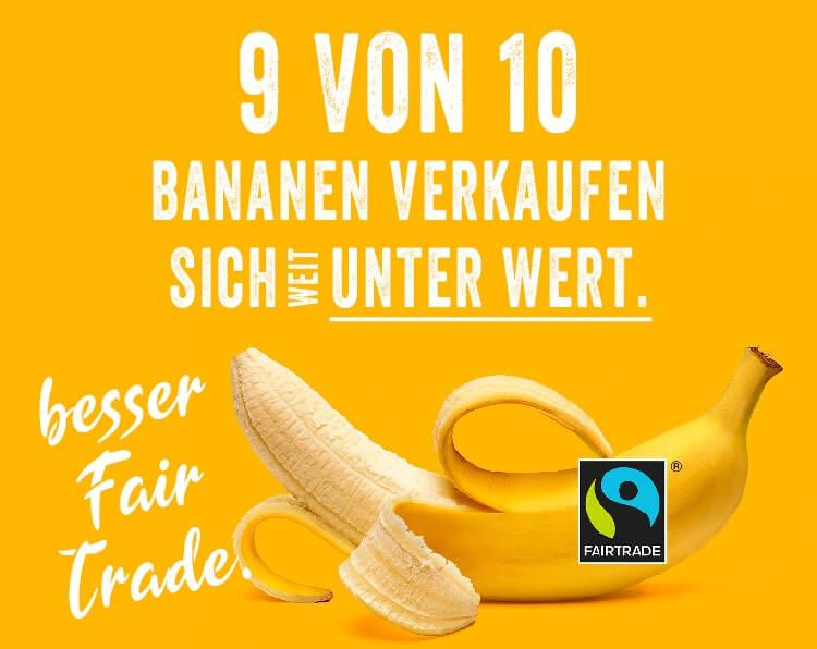 Fair Trade Bananen