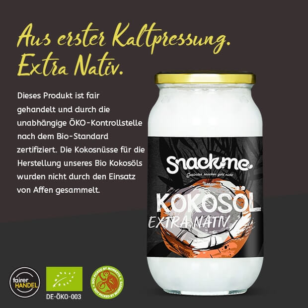 Bio Fair Trade Kokosöl extra nativ