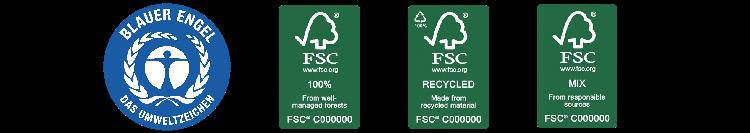 Umweltschutz Gütesiegel