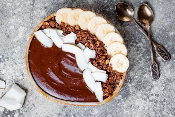 Kickstarter Smoothie Bowl Rezept