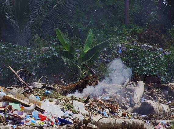 Illegale Plastikentsorgung im Ausland