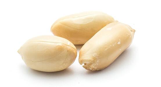 Bio Erdnüsse blanchiert