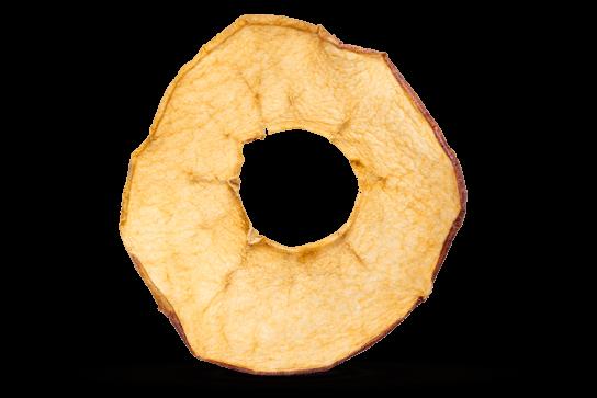 Bio Apfelchips gefriergetrocknet