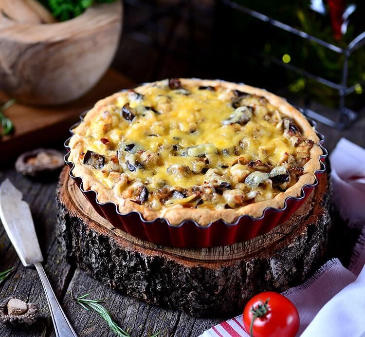 Pfirsich-Käse-Pastete