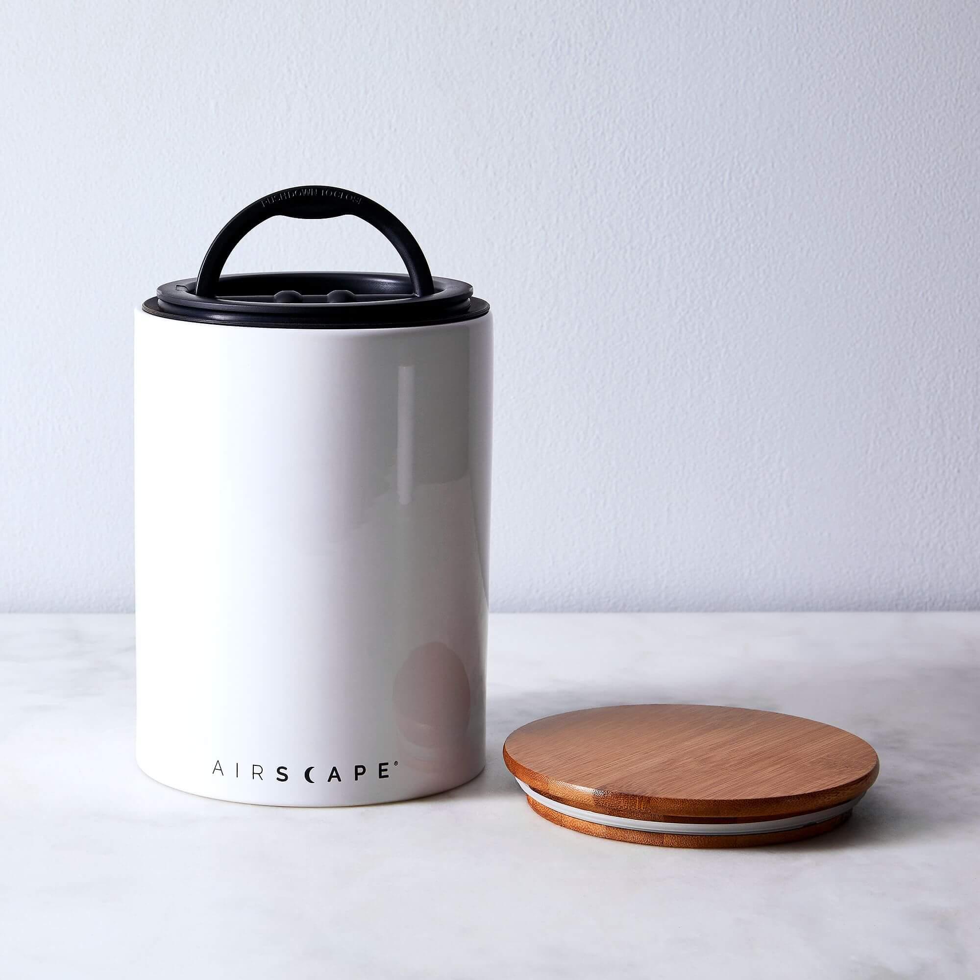 Airscape Vakuumbehälter Keramik weiß